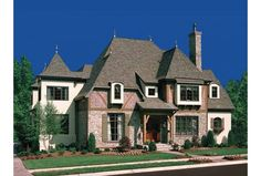 French Roof Lines   Eplans French Country House Plan - A Plan to be Envied - 5448 Square ...