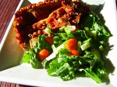 Spinach, tofu, mushroom lasagne (Small)
