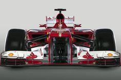 Ferrari se pone guapo. El Ferrari F138 de Alonso para el Mundial 2013.