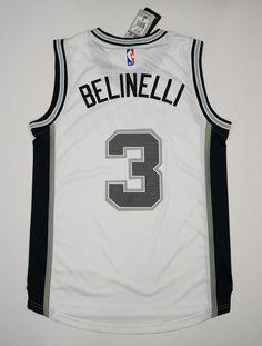 026ca3809 NBA 3 Belinelli San Antonio Spurs jersey white