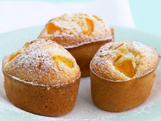 Peach friands, peach recipe, brought to you by Woman's Day