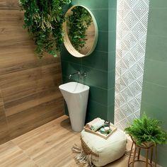 Colectia de placi ceramice Touch pentru un aspect natural si elegant al baii tale. Dom, Mirror, Bathroom, Furniture, Home Decor, Washroom, Decoration Home, Room Decor, Mirrors