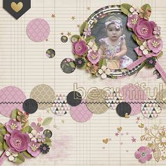May Bingo challenge - Round and Round  kit used:Everyday Beautiful: COLLECTION by Zoe Pearn & Studio Flergs http://www.sweetshoppedesigns.com/sweetshoppe/product.php?productid=29538&page=2