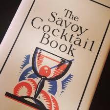 """Vaizdo rezultatas pagal užklausą """"The Savoy Cocktail Book"""""""