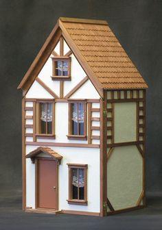 Country Tudor Dollhouse Kit by Real Good Toys