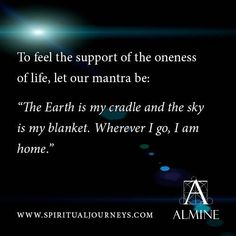 Support of the Oneness of Life...