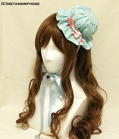 CL / Bubble Bath Mini Nightcap Hat Headdress
