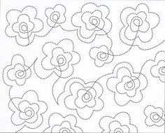Hari Walner's Continuous-Line Quilting Designs. 809 patterns for