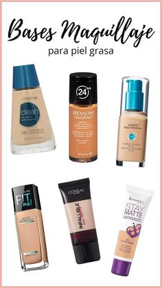 Makeup Tips for Oily Skin- Trucos de Maquillaje para Piel Grasa With these makeup tips oily skin will not be a problem. Beauty Make-up, Beauty Makeup Tips, Beauty Hacks, Beauty Skin, Makeup Dupes, Makeup Cosmetics, Eye Makeup, Prom Makeup, Rimmel