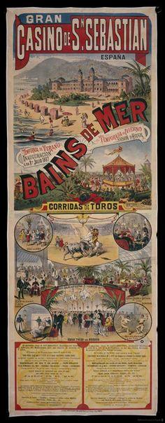 Bains de mer, en el Gran Casino de San Sebastián (1887)