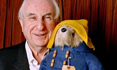Paddington Bear to tell his own original story in new book of letters … Michael Bond and Paddington Bear. Photograph: Eamonn McCabe for the Guardian