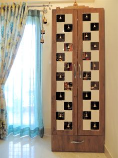 Interiors is one of the best home & office interior designers firms in Whitefield, Bangalore. Bedroom Furniture Design, Pooja Room Door Design, Temple Design For Home, Home Room Design, Room Partition Designs, Living Room Partition Design, Bedroom Bed Design, Cupboard Design, Room Door Design