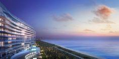 Richard Meier Unveils First Florida Beach Project, Now Underway,© dbox for Fort Capital / Richard Meier & Partners
