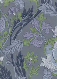 William Morris -tyyliin | Pihlgren ja Ritola Osakeyhtiö William Morris, Blue Design, Pattern Design, Blue Green, Floral, Prints, Painting, Walls, Bungalow