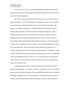 Personal statement template for graduate school find a personal