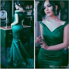 2017 Vintage Prom Dresses Off the Shoulder Mermaid Prom Gowns Emerald Green Sexy Backless Party Formal Gowns Vestidos De Festa Cheap Prom Dresses Dresses Evening Wear Plus Size Evening Gown Dress Online with $135.0/Piece on Caradress's Store | DHgate.com