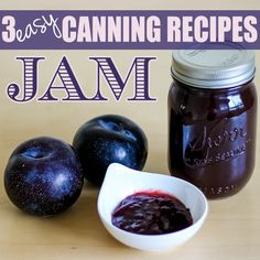 3 canning recipes for jam