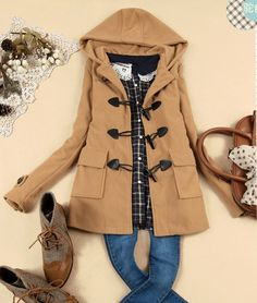 18 Stylish Winter Coats | More Duffle coat ideas