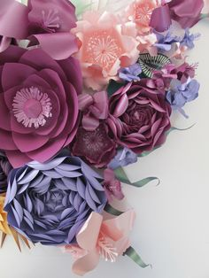 the making of 'talking fashion' plaza 66 paper flowers