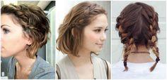 Trenzas para cabello corto  |  SKLUSSIV PERU