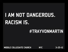 """Posted around the neighborhood near Middle Collegiate Church after a """"Hooded"""" Sunday service in support for slain teen Trayvon Martin on Sunday 3/25/12."""