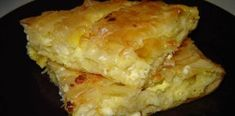 Pite e shpejtë - Receta Gatimi Shqip Savory Muffins, Cheese Pies, Greek Dishes, Sweet Cakes, Cooking Time, Food And Drink, Favorite Recipes, Stuffed Peppers, Dinner