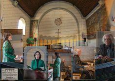 Foto-Kollage zum Konzert zeitgenössische Interpretation