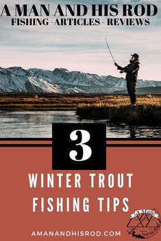 Winter time can be a difficult time of year to catch trout. I have put together 3 WInter Trout Fishing Tips to help you catch more fish. Sport Fishing, Ice Fishing, Best Fishing, Fishing Lures, Fishing Bobbers, Fishing Rods, Fishing 101, Women Fishing, Going Fishing