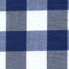 Navy 1 Inch Gingham - Discount Fabrics from Denver Fabrics. For curtains.