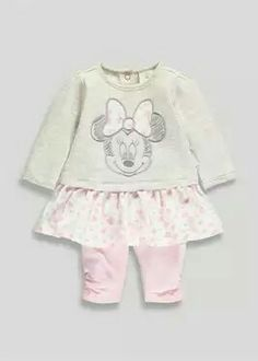 Cardigan 2 X Leggings 6-9 Months Complete Range Of Articles 2 X Vests Fast Deliver Mothercare Baby Girls 5 Piece Set
