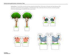 Animals & Tree