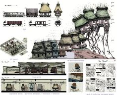 'A Different Kind of Museum' by Andrei Puică (Timisoara, Romania) recycles abandoned rural homes. The plan addresses conservation, modernity, urbanization and cultural identity in one gesture. The project was selected as participants' favorite (19 votes). Image Courtesy of Archiprix International
