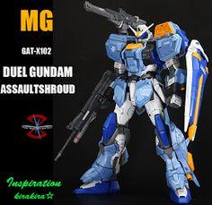 MG Duel Gundam Assaultshroud - Customized Build Gundam Tutorial, Gundam Custom Build, Gundam Seed, Frame Arms, Gunpla Custom, Gundam Model, Mobile Suit, Concept Art, The 100