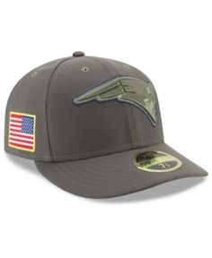NEW ERA NEW ENGLAND PATRIOTS SALUTE TO SERVICE LOW PROFILE 59FIFTY FITTED  CAP.  newera   a23aa6d94ed