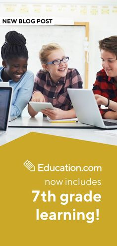 7th grade learning has officially launched on Education.com! Check it out: Learning Games, Math Games, Seventh Grade Math, Word Search Puzzles, Reading Comprehension Worksheets, School Levels, Middle Schoolers, Art Lesson Plans, Essay Writing