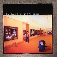 MARILLION The Best Of Coaster Ceramic Tile Record Cover