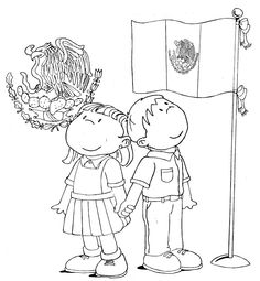 Mexico Flag Coloring Page - Gallery | Templates | Pinterest ...