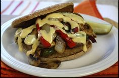 HG's Philly-licious Cheesesteak Burger