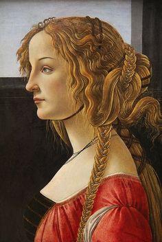 Botticelli. Helena de Troya