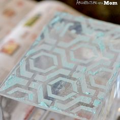 DIY Glass Etched Vase using your Silhouette