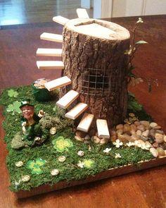 "Tracey Luttgen's trap will ""stump"" any leprechauns that happen by."