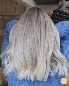 Ice Blonde Hair, Blonde Hair Shades, Blonde Hair Looks, Icy Blonde, Platinum Blonde Hair, Blonde Color, Blonde Short Hair, Cool Toned Blonde Hair, Blonde Hair For Brown Eyes