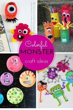 Colorful Monster Craft Ideas | eBay