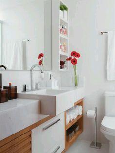 Banheiro - nicho parede