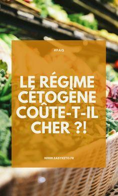 Le régime cétogène coûte-t-il cher ? En effet, les produits de base qui sont utilisés dans les menus coûtent cher : avocats, saumon, crevettes, fruits de mer, canard, etc.Mais cette augmentation du prix moyen des aliments est à nuancer dans la durée par la diminution #ketoeasy #ketodiet #ketosis #ketoweightloss #lazyketo #lowcarbdiet #ketocommunity #ketogenic #recettecetogene #regimeketo #lowcarbdiet #lowcarblifestyle #ceto #cetogene #ketofacile #ketofrance #lchf #easyketo Snack Recipes, Snacks, Fat Bombs, Augmentation, Chips, Low Carb, Drinks, Questions, Aide