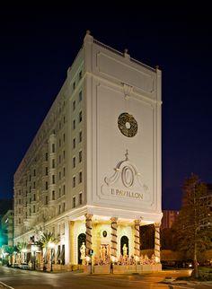 Le Pavillon Hotel—New Orleans, Louisiana.
