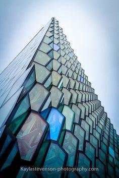 Harpa Concert Hall, Reykjavík, Iceland. Architectural visualizations.