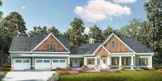 Plan 36069DK - Handsome Craftsman House Plan Plan  36069DK: