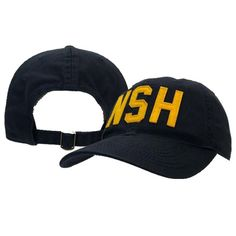 Sport Seasons · Hats · Legacy NSH Adjustable Hat (Navy Gold) 50e35109446e