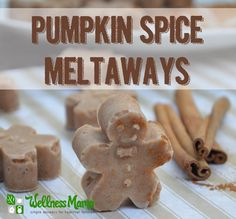 Recipe: Pumpkin Spice Meltaways - grain-free, coconut based treats that are gently sweetened!